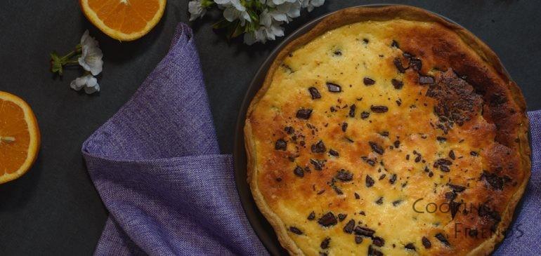 Великденски пай с рикота,шоколад и портокал