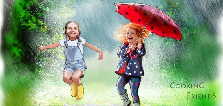 Печени понички за деня на детето :)))