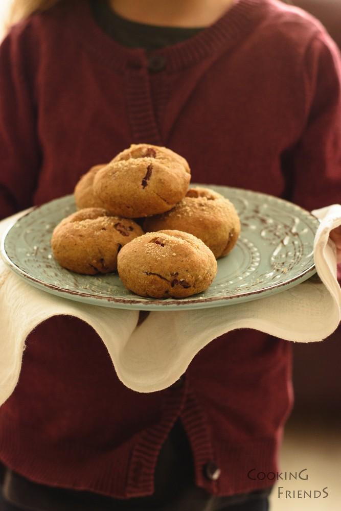 Лимецови хлебчета с шунка и пармезан