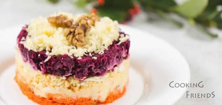ВИДЕО: Вкусна трицветна салатка